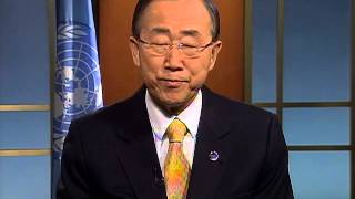 United Nations Secretary - General Ban Ki-moon  - Video Message for WCIT 2012