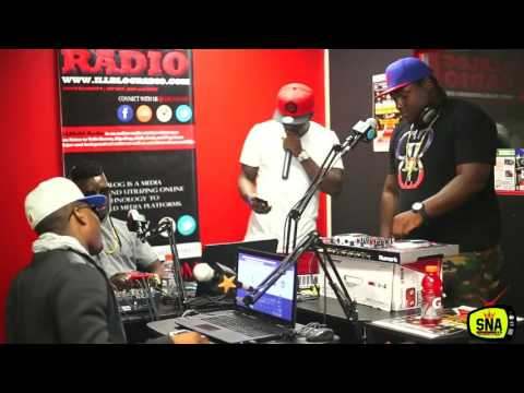 Dj Thousand and King T.I.G at the SAJES NET ALE RADIO SHOW