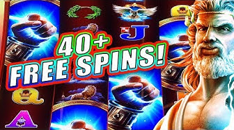 MY BIGGEST BONUS EVER!! ➜ 45 FREE SPINS ★ BIG WIN BONUS ➜ ZEUS UNLEASED