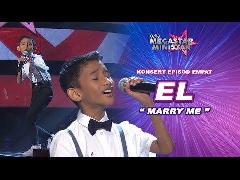 El, kembar Nabil Ahmad, buat lawak spontan! | Marry Me | Mark Adam | Ceria Megastar Ministar