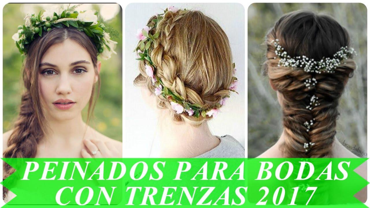 Peinados con trenzas boda