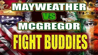 🔴 Conor Mcgregor vs Floyd Mayweather LIVE STREAM!! FIGHT BUDDIES fight REACTION thumbnail