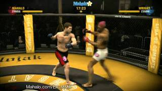 EA Sports MMA Career - 12th Pro Fight (Contender Fight)