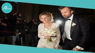 Matrimonio Carlo Cracco e Rosa Fanti, l'abito (glam) della sposa
