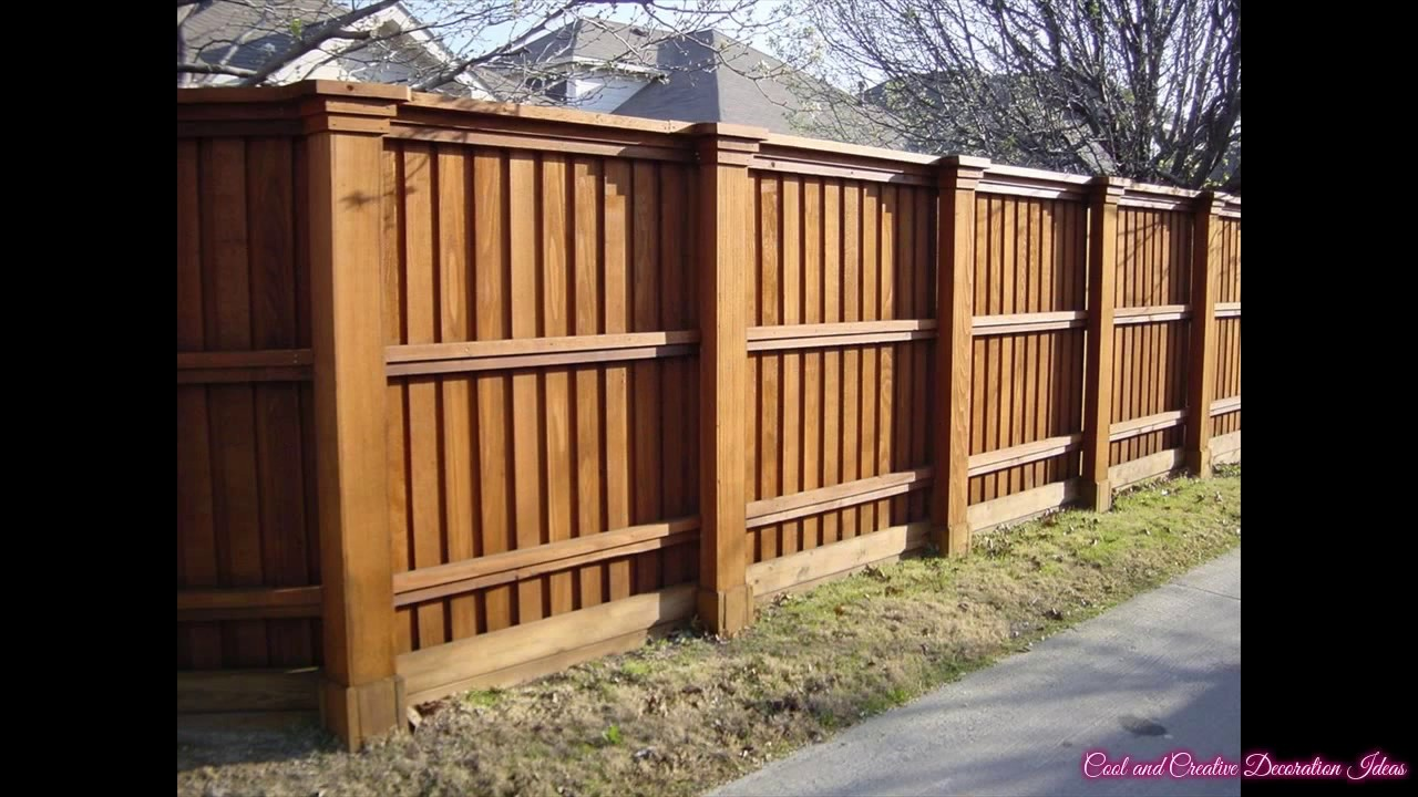 Delicieux Cedar Fence Design Plans