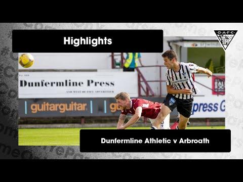 Dunfermline Arbroath Goals And Highlights