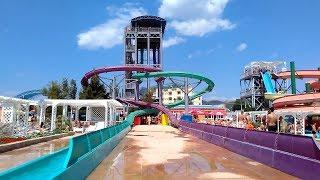 Аквапарк Судак 2012 (новая горка)((75 км/ч) (8 секунд адреналина) (высота 9 этажей), 2012-07-03T19:08:49.000Z)