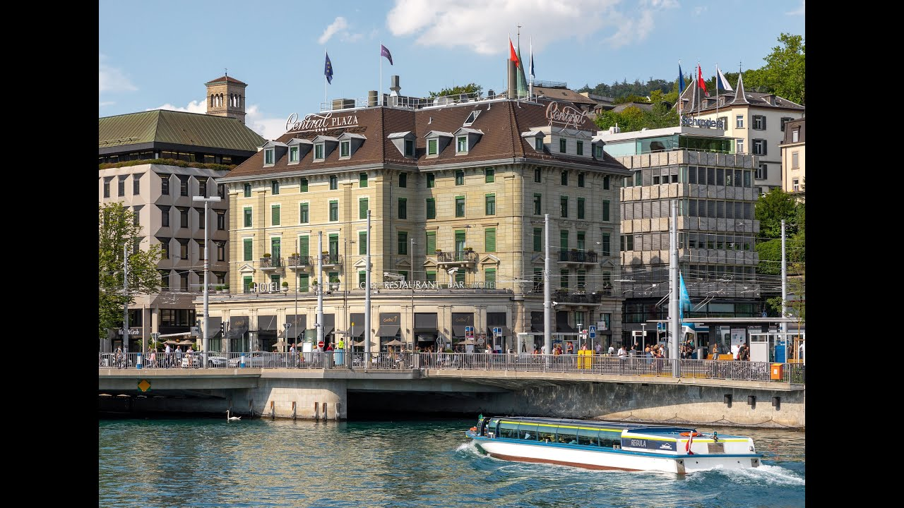 Central Plaza Hotel City Hotel Of Zurich Since 1883