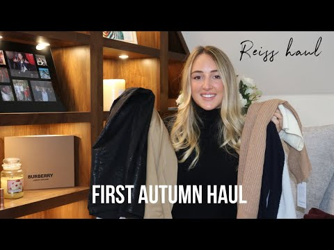 First Autumn Haul | Reiss | All Things Yazz