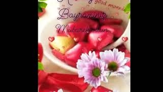 REKOR KIRAN BAYRAM MESAJI/Ramazan Bayramımız Kutlu Mübarek Olsun/ilahili/Ramazan Bayramı Mesajları