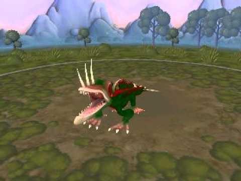 Spore Creature: Class 3 Nightmare Thorny Dragon