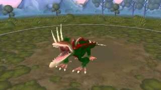 Spore Creature: Class 3 Nightmare Thorny Dragon