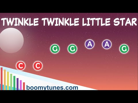 BOOMWHACKERS PLAY ALONG - Twinkle Twinkle Little Star