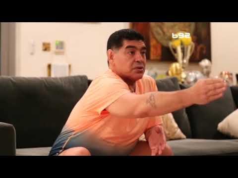 Dijego Maradona ekskluzivno za B92: Novak je fenomen, sve je namešteno