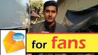 Ravi Dubey's special message for India-forum fans