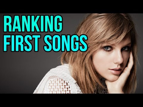 Ranking The First Songs On Every Taylor Swift Album