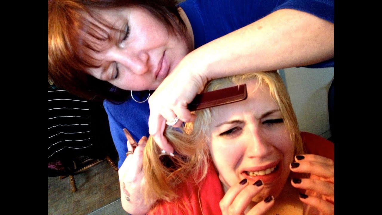 sleepwalking mom cuts my hair!!!! - youtube