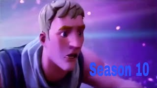 Fortnite Saison 10/X Cinematic Trailer Fuite #season10