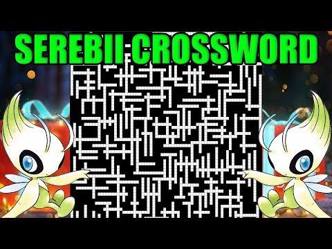 Serebii Christmas Crossword! INSANE 315 Question Crossword!