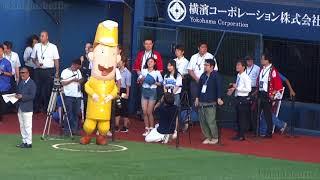 【うまさぎっしり新潟】NGT48長谷川玲奈 横浜スタジアム始球式하세가와레나 20180821