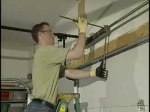 E Removing Standard Garage Torsion Springs Youtube