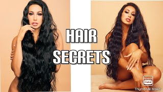 HAIR SECRETS FOR EXTREME LONG HAIR
