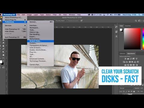 Scratch Disk FULL Adobe Photoshop | FAST FIX