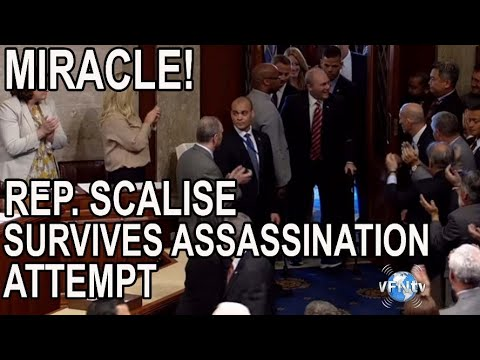 MIRACLE! Republican Representative Steve Scalise Survives Assassination attempt on Congressmen