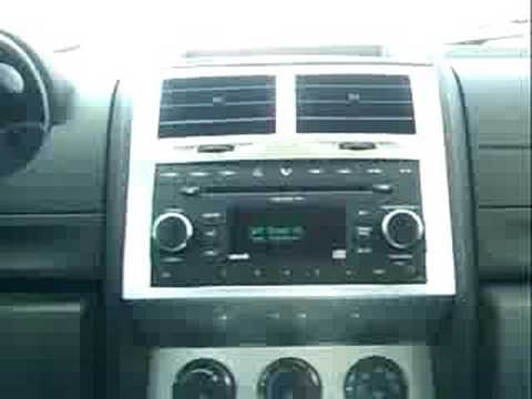 hqdefault inside the new 08 dodge nitro w sirius sat radio youtube 2008 Dodge Nitro SXT at aneh.co