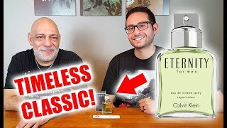 Calvin Klein Eternity Fragrance / Cologne Review