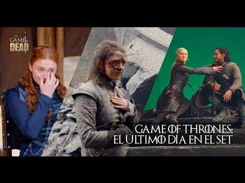 Download Game of Thrones: El Último Día en el Set #LastDayOnSet   Completo (Subtitulado) HD