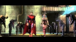 Injustice: Gods Among Us (Wii U) The Line Trailer
