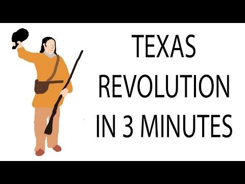 Texas Revolution   3 Minute History