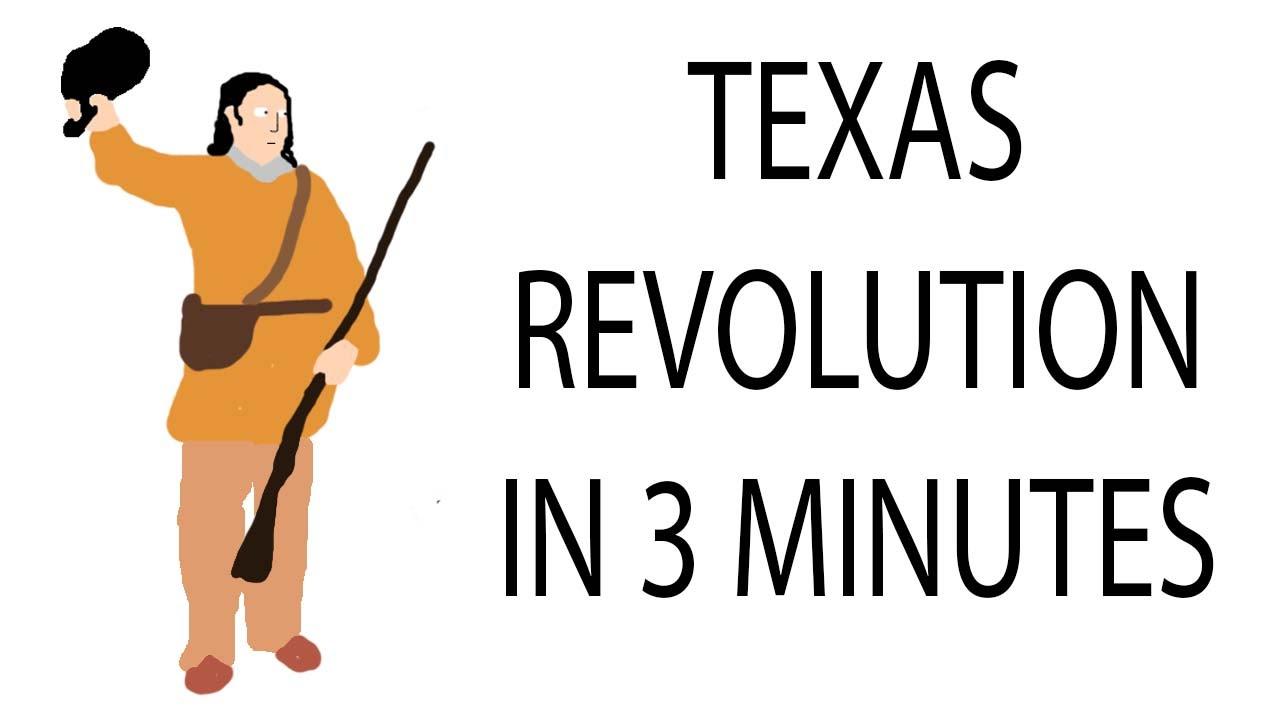 texas revolution 3 minute history youtube