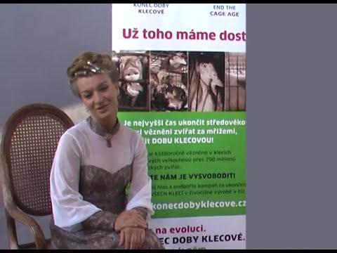 Sandra Pogodová o kampani KONEC DOBY KLECOVÉ červen 2016