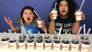 Don't Choose the Wrong McDonald's McFlurry Slime Challenge