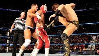 Rey Mysterio & Sin Cara vs. The Miz & Cody Rhodes: