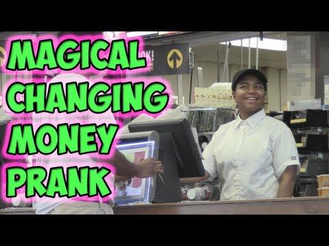 Magical Changing Money Prank