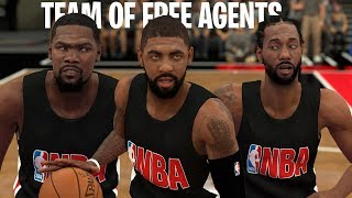 Can A Team of 2019 NBA Free Agents Go Undefeated? | NBA 2K19
