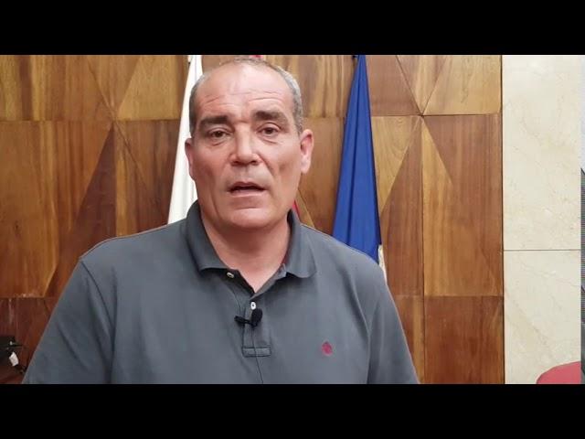 Declaraciones del Consejero de Innovación del Cabildo de La Palma.