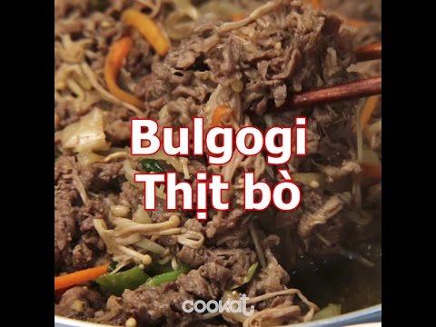 [Cookat Việt Nam] Bulgogi Thịt Bò