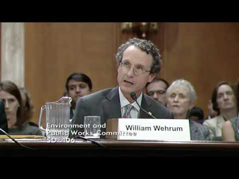 Trump EPA Office of Air & Radiation Nominee William Wehrum (October 2017)