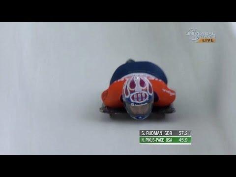 Pikus-Pace 3rd in Skeleton at Lake Placid - Universal Sports