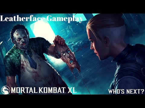 Mortal Kombat X: Leatherface Gameplay [Kombat Kast]
