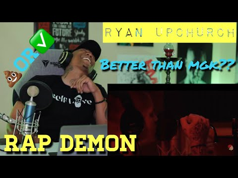 Better than MGK??? Ryan Upchurch (Rap Demon, Rap Devil Remix) [REACTION]