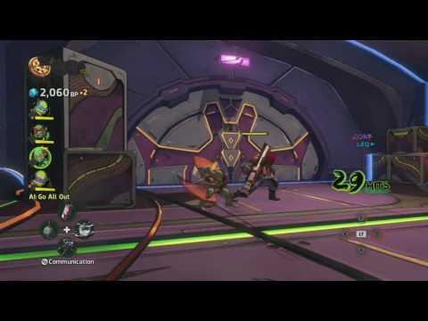 Teenage Mutant Ninja Turtles: Mutants In Manhattan Stage 7: General Krang (Xbox One Gamepl