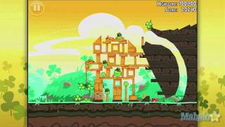 Angry Birds Seasons St Patricks Day: Level 1-8