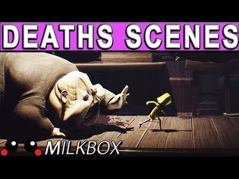 Little Nightmares All DEATHS SCENES All Death Animations