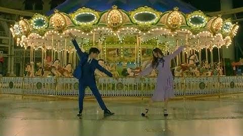 ep18 kaiexojaekyungrainbow dance in the miracle we met drama final episode  la la land