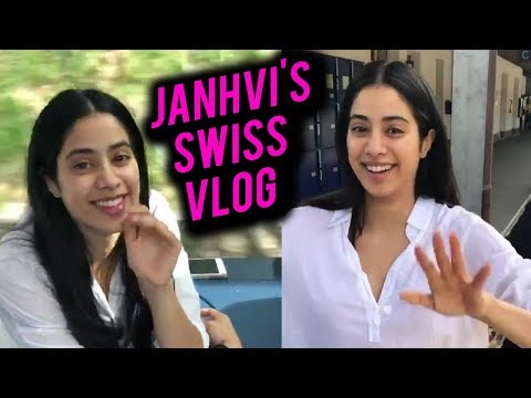 Janhvi Kapoor FASHION TURNED FUN VACAY In Switzerland  Bollywood Now